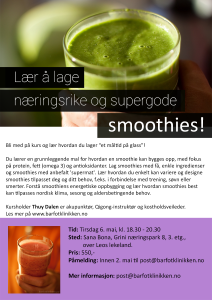 smoothiekurs-mai-2014